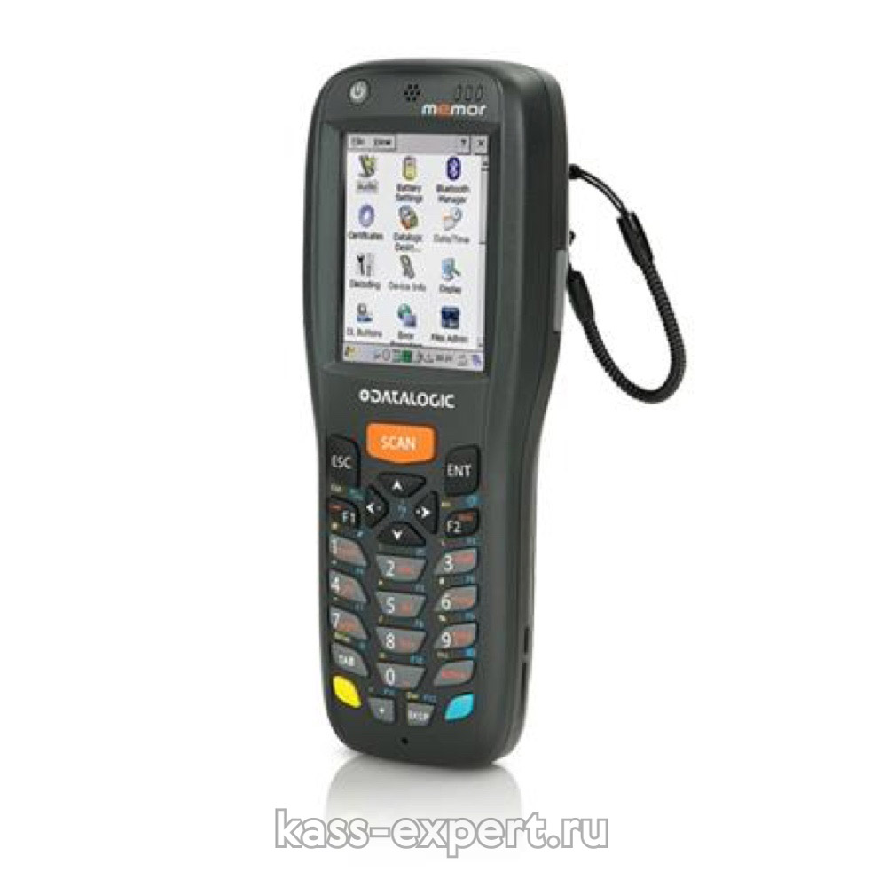Терминал Memor X3, 2D, WiFi, Bluetooth, 256/512, 25-key Numeric, Win CE Pro 6.0 арт.944250006