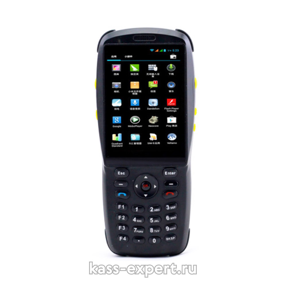 VIOTEH DC101 2D, GSM, 3G, WIFI, Bluetooth, 2D barcode, NFC, 3.5' дисплей, GPRS